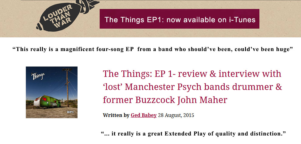 EP1 review by Louder Than War